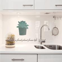 厨房家用耐高温加厚墙贴壁纸灶台瓷砖防水贴透明防油烟墙纸