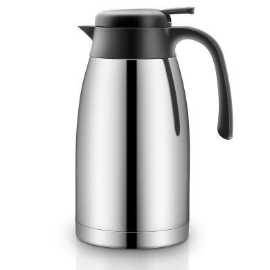 炊大皇(COOKER KING) 304不锈钢保温壶家用暖壶热水壶开水瓶大容量欧式咖啡壶WG40619