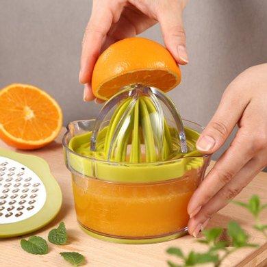 SSGP 橙汁榨汁机手动 橙子挤压器压柠檬神器简易水果榨汁杯水果汁家用12881手动榨汁器