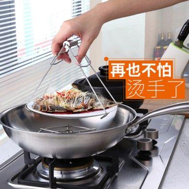 SSGP 不銹鋼防燙夾多功能夾提碗器提盤器取盤夾子防燙 盤夾  05761 全鋼取夾