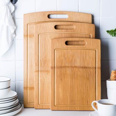 摩登主婦菜板實木 家用案板大號加厚砧板切肉切菜板防霉搟面占板