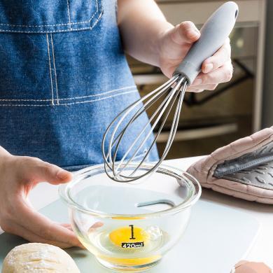 摩登主妇打蛋器手动家用厨房烘焙工具硅胶奶油蛋清面糊大号搅拌器