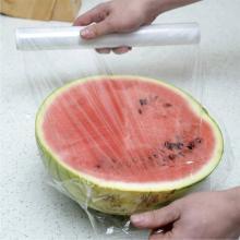 亿美食品PE保鲜膜30cm宽需裁剪无毒环保水果通用性60m
