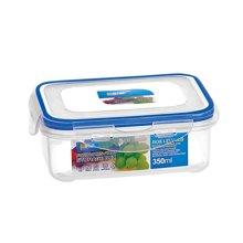 長方形密封罐 保鮮盒密封帶扣冷藏盒儲物盒