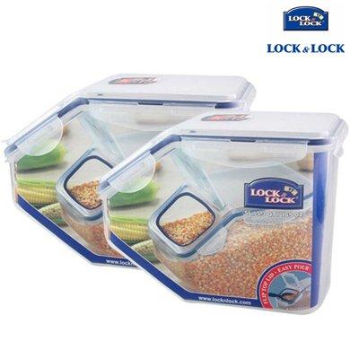 【包郵】樂扣樂扣LOCKLOCK-防潮密封桶2個5000毫升米桶大容量保鮮盒儲藏箱雜糧干果食物罐收納盒面粉桶二件套裝