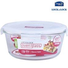 【包邮】乐扣乐扣LOCKLOCK-耐热玻璃保鲜盒950毫升圆形
