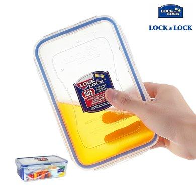 【包邮】乐扣乐扣LOCKLOCK-长方形保鲜盒1000毫升?#36141;斜?#31665;收纳盒