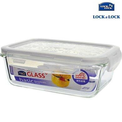 【包郵】樂扣樂扣LOCKLOCK-耐熱玻璃保鮮盒750毫升長方形