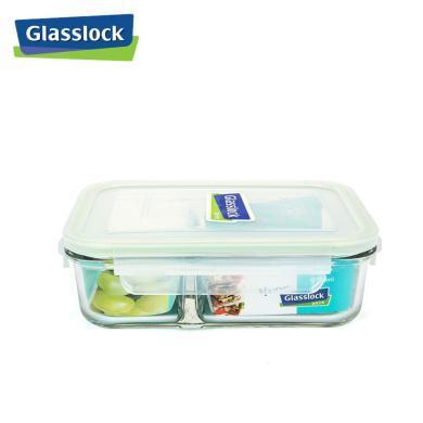 Glasslock韓國進口分隔耐熱玻璃 保鮮盒飯盒微波爐 920mlMCRK-092