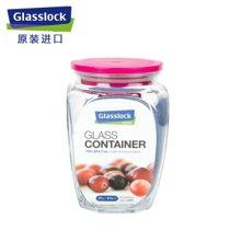 Glasslock 韩国进口玻璃储物罐保鲜盒收纳罐密封罐 IP536/500ml