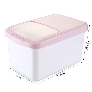 滑蓋10KG加厚塑料米桶防蟲防蛀儲大號米盒子儲米箱裝儲米缸