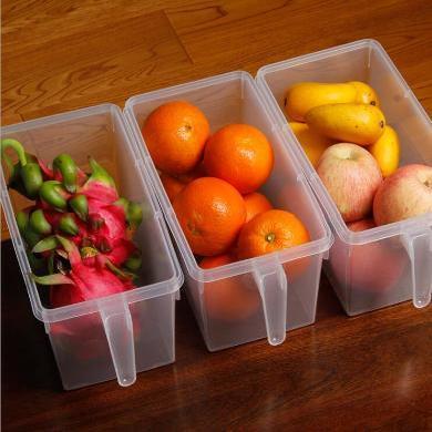 3L大容量廚房食品食物分類儲物罐帶手柄果蔬食品保鮮盒儲物
