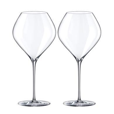 RONA洛娜天鵝葡萄酒杯2件套6650 860-2斯洛伐克進口水晶