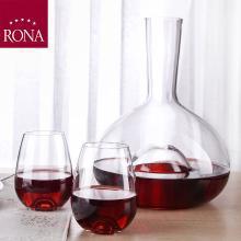 RONA洛娜泪滴醒酒器三件套RN-W002L斯洛伐克进口水晶