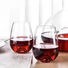 RONA洛娜侍酒司水晶水杯2件套RN-Y006S斯洛伐克进口水晶