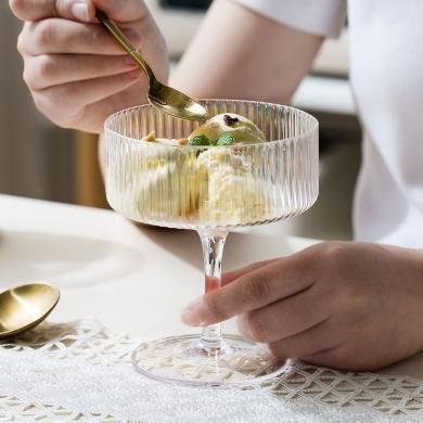 摩登主婦 簡約ins風玻璃杯透明酒杯家用水杯水晶杯雞尾酒杯奶茶杯