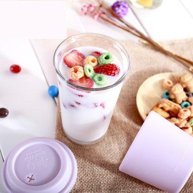 GlasslockRC107 韓國進口鋼化玻璃水杯茶杯咖啡杯辦公杯牛奶杯380ml