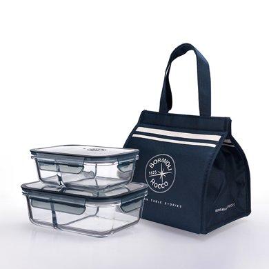 意大利波米歐利艾維森全分隔保鮮盒3件套ACTB-C019A