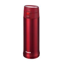 孔雀(Peacock)不锈钢真空保温杯   AML-50   500ML  亮黑色   酒红色