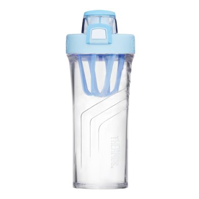 【新品】膳魔師搖搖杯運動水杯便攜健身奶昔杯攪拌杯大容量塑料水壺TP4086