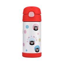 膳魔师熊本熊350毫升保温不锈钢儿童吸管杯F4011