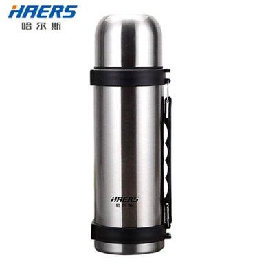 哈爾斯  哈爾斯保溫壺杯大容量不銹鋼水壺杯子旅行戶外車載便攜旅行壺 運動壺 1200ml