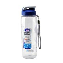 乐扣乐扣 便携运动透明水杯 700ml防漏塑料大容量户外水壶HPP722