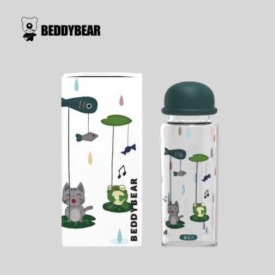 杯具熊漁夫帽玻璃杯