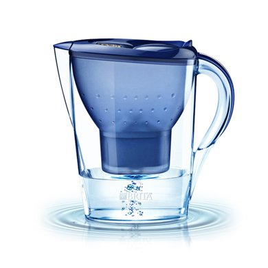 碧然德(BRITA) 家用过滤净水器 滤水壶净水壶 滤芯Marella金典系列3.5L蓝色