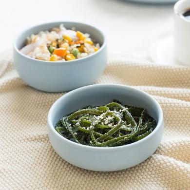 摩登主婦 北歐餐具mode創意骨瓷純色碗盤餐盤陶瓷盤子湯盤吃飯碗