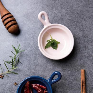 摩登主婦 歐式陶瓷創意醬油醋碟調料碟小吃碟蘸料碟調味碟子家用