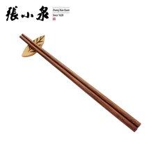 张小泉鸡翅木筷子家用实木筷10双装健康筷环保安全长筷子餐饮酒店