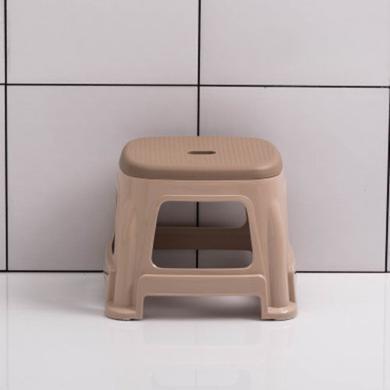 塑料凳子板凳雙色凳加厚防滑成人椅子熟膠高凳浴室凳
