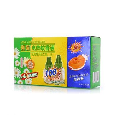 欖菊蚊液2+1(野菊花蚊液*2+1器)(2瓶+1器)