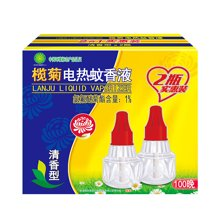欖菊清香型電熱蚊香液(2合1實惠裝36裝終端版)(33ml)