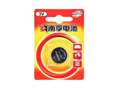 南孚紐扣電池CR2016   3V鋰電子手表小電池  2粒裝