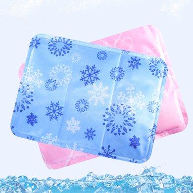 降温冰垫冰枕 办公室多功能冰凉坐垫 秋?#37202;?#36710;垫笔记本散热垫