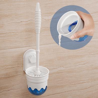 雙慶家居 吸力潔廁刷套裝 帶吸盤馬桶刷 清潔刷 廁所刷