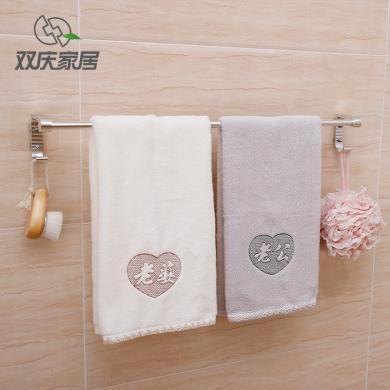 太空鋁吸盤毛巾架衛生間吸盤式單桿毛巾架免打孔毛巾掛毛巾桿