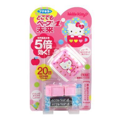 【支持購物卡】日本VAPE未來HelloKitty便攜電子驅蚊手表 安全無毒 香港直郵