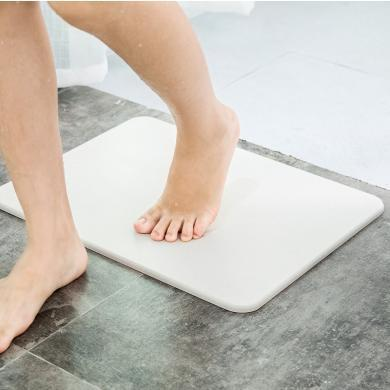 佐敦朱迪硅藻泥地墊 天然硅藻泥防滑吸水地墊速干衛浴衛生間門口腳墊