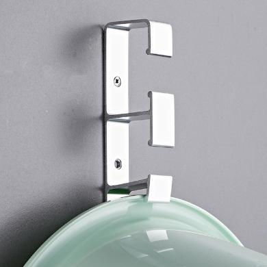 免打孔墻壁臉盆掛鉤浴室創意無痕掛架衛生間強力壁掛臉盆架掛盆架