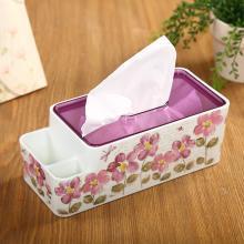 愛屋格林抽紙盒歐式家用多功能紙巾盒餐巾紙抽盒客廳遙控器收納盒
