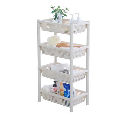 家立佳BY-6275四層多功能置物收納架 廚房收納架