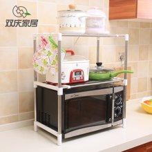 雙慶 廚房多功能置物架 微波爐架 勺鏟掛架 SQ-7009
