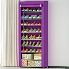 索爾諾 大型鞋柜加固9層鞋櫥簡易防塵鞋柜09C