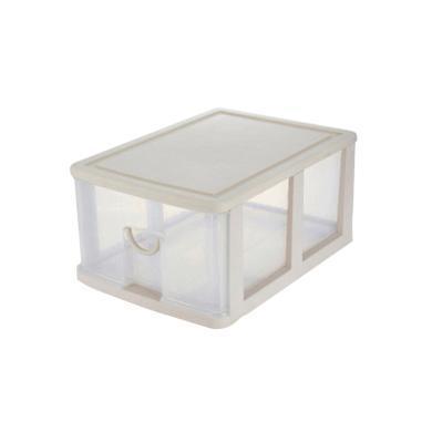 家立佳6208組合抽屜整理箱 收納箱 收納柜 【單層深型】