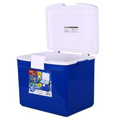 愛麗思IRIS 日本家用戶外便攜車載保溫箱桶冷藏箱冰包冰桶愛麗絲CL-15藍色