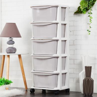 多层塑料抽屉式收纳柜整理盒儿童内衣内裤宝宝玩具衣柜收纳箱