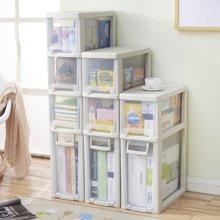 阡佰家 多功能米桶柜 多層夾縫收納柜帶拉手密封廚房儲物柜透明收納箱子